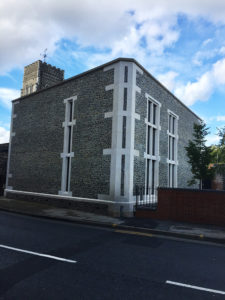 St Mary at Quay church extension in full.